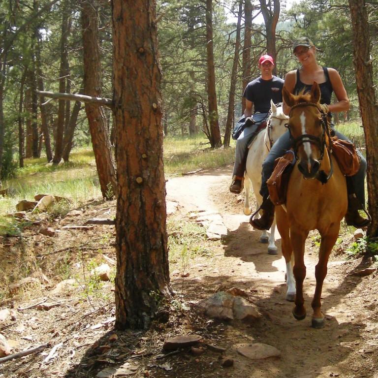 Open Space on Horseback