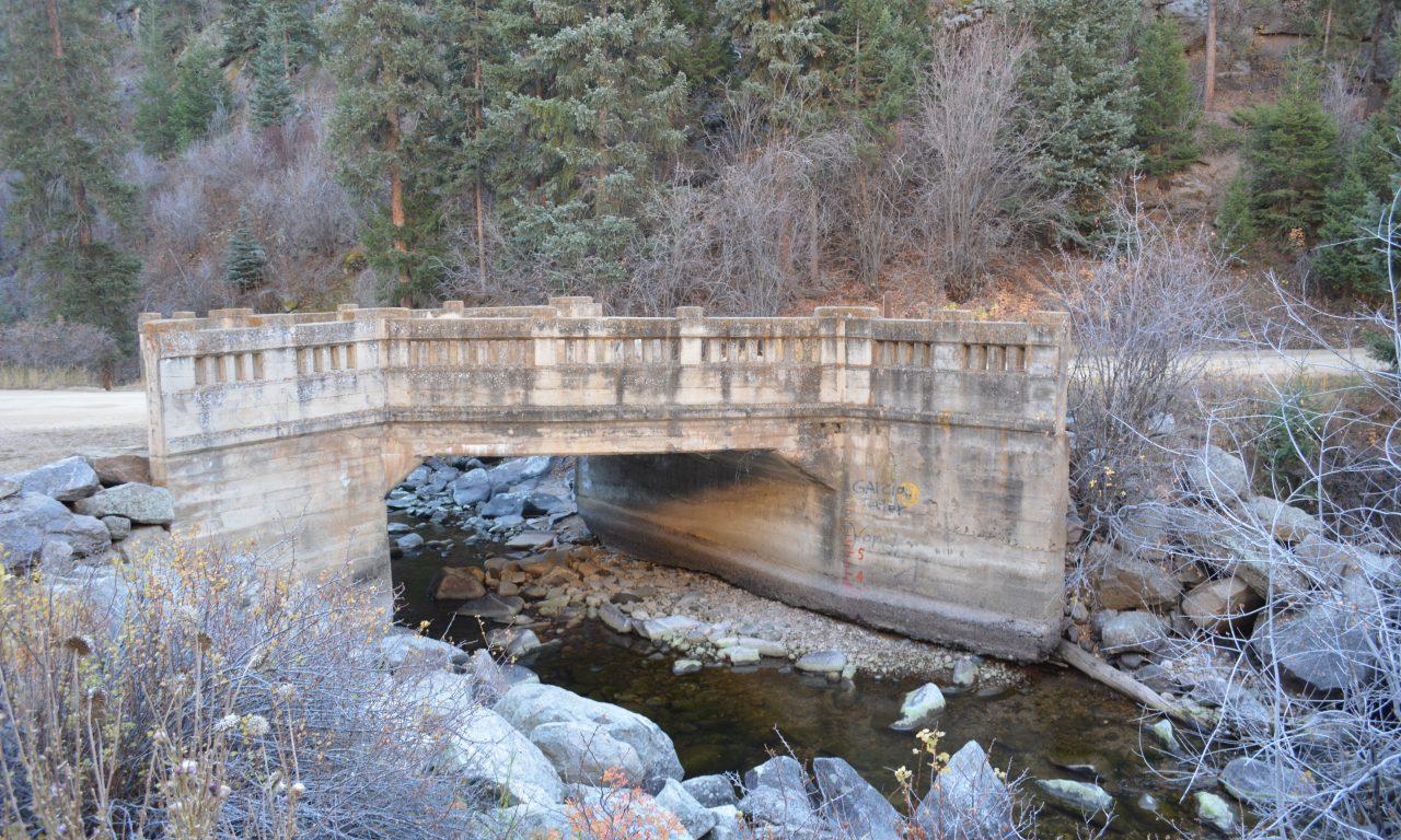 The Castle Rock Bridges of Boulder Canyon