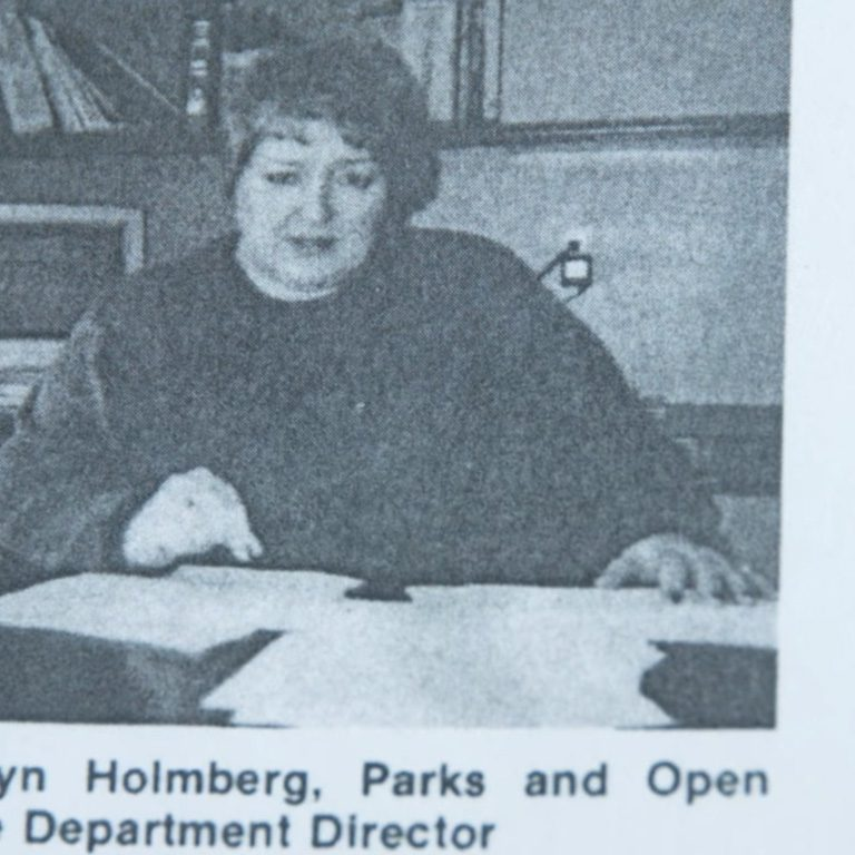 From the Archives: In the Words of Carolyn Holmberg
