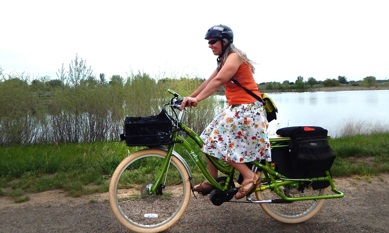 E-bike Pilot Study on Selected Trails