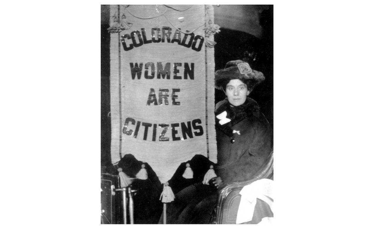 Women Get the Vote in Colorado