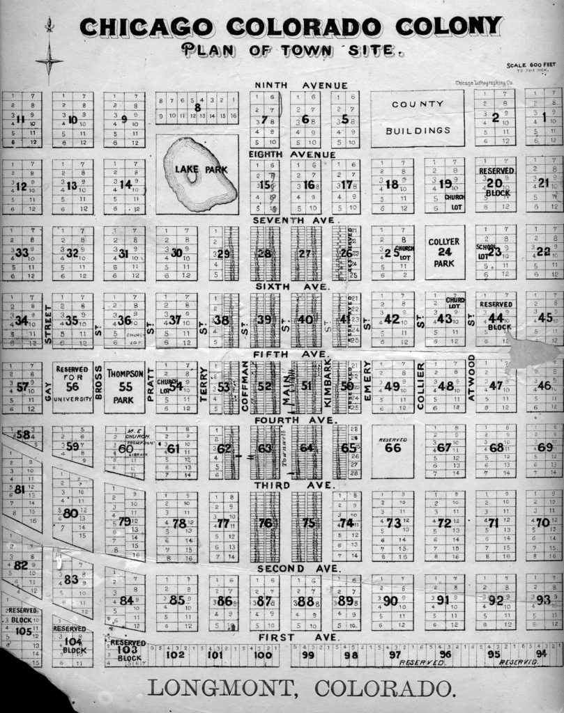 Chicago-Colony Group Plot Plan